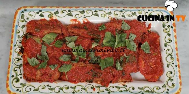 In cucina con Imma e Matteo - ricetta Parmigiana di melanzane