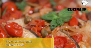 L'Italia a morsi - ricetta Pesce spada all'isolana di Chiara Maci
