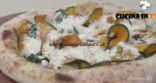 Cotto e mangiato - Pizza tonda di stagione ricetta Renato Bosco