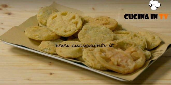 Fatto in casa per voi - ricetta Pomodori verdi fritti di Benedetta Rossi