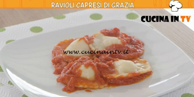 Ricette all'italiana - ricetta Ravioli capresi di Grazia di Anna Moroni