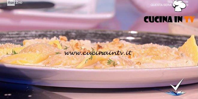 Detto Fatto - ricetta Ravioloni di zucca e noci di Beniamino Baleotti