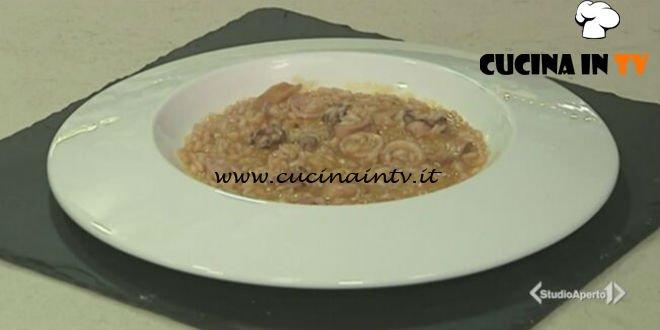 Cotto e mangiato - Risotto con calamari e pomodorini gialli ricetta Tessa Gelisio
