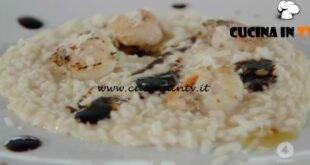 Ricette all'italiana - ricetta Risotto con capesante e formaggio di Fossa di Anna Moroni