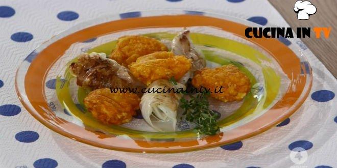 Ricette all'italiana - ricetta Rombo con porri e frittelle di zucca di Anna Moroni
