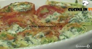 Cotto e mangiato - Rotolo di ricotta e spinaci ricetta Tessa Gelisio