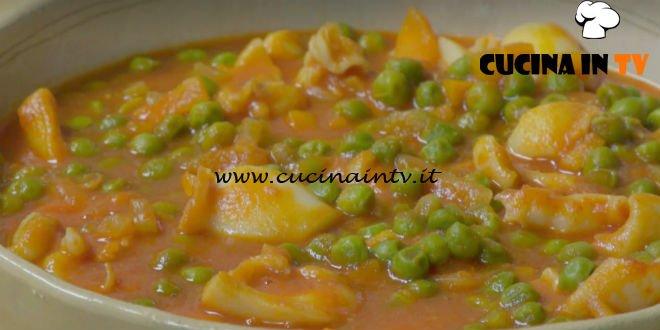 Fatto in casa per voi - ricetta Seppie in umido con piselli di Benedetta Rossi