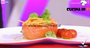 Detto Fatto - ricetta Spaghetti ai 3 pomodori di Mattia Poggi