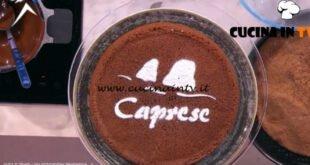 Detto Fatto - ricetta Torta caprese a modo mio di Angelica Sepe