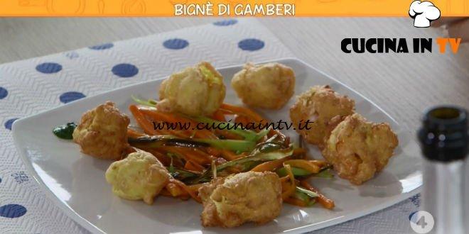Ricette all'italiana - ricetta Bignè di gamberi di Anna Moroni