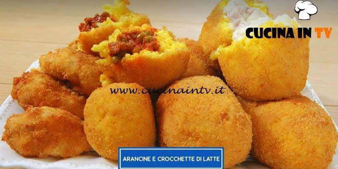 Giusina in cucina - ricetta Arancine e crocchette di latte di Giusina Battaglia