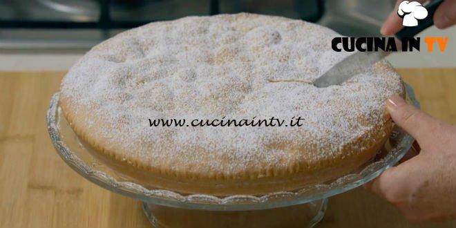 Fatto in casa per voi - ricetta Crostata ricoperta pere e cioccolato di Benedetta Rossi
