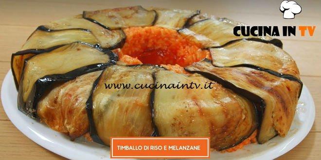 Giusina in cucina - ricetta Timballo di riso e melanzane di Giusina Battaglia