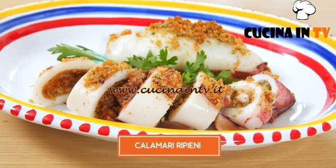 Giusina in cucina - ricetta Calamari ripieni di Giusina Battaglia