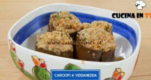 Giusina in cucina - ricetta Carciofi a viddanedda di Giusina Battaglia