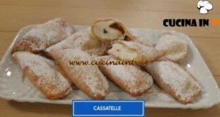 Giusina in cucina - ricetta Cassatelle di Giusina Battaglia