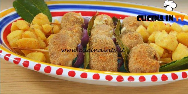 Giusina in cucina - ricetta Involtini alla palermitana con patate sabbiate di Giusina Battaglia