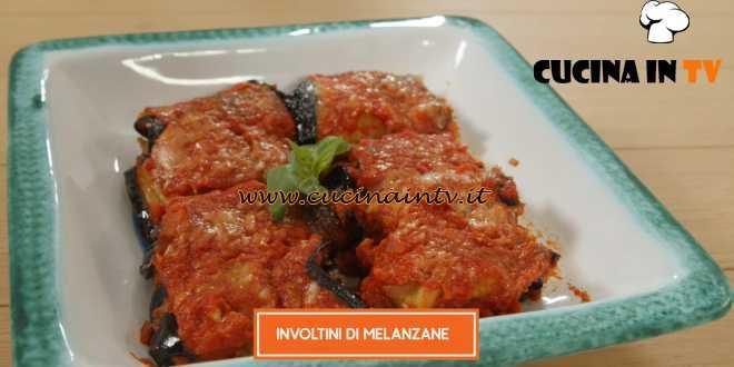 Giusina in cucina - ricetta Involtini di melanzane di Giusina Battaglia