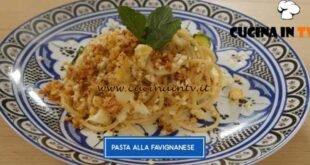 Giusina in cucina - ricetta Pasta alla favignanese di Giusina Battaglia