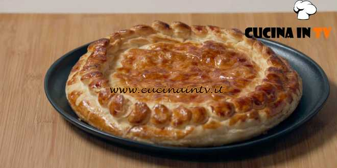 Fatto in casa per voi - ricetta Pizza rustica prosciutto cotto e formaggio di Benedetta Rossi