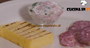 L'Italia a morsi - ricetta Polenta salame e grass pistà di Chiara Maci