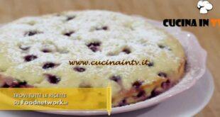 L'Italia a morsi - ricetta Torta all'uva fragola di Chiara Maci