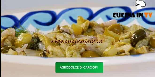 Giusina in cucina - ricetta Agrodolce di carciofi di Giusina Battaglia