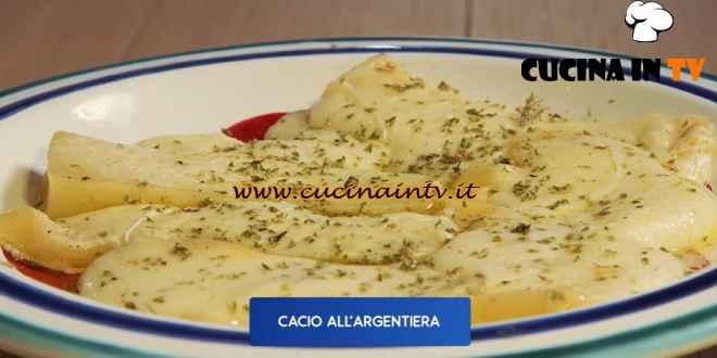 Giusina in cucina - ricetta Cacio all'Argentiera di Giusina Battaglia