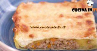 L'Italia a morsi - ricetta Cannelloni di ragù bianco al mistrà di Chiara Maci
