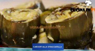 Giusina in cucina - ricetta Carciofi alla stracciatella di Giusina Battaglia
