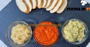 Cotto e mangiato - Creme spalmabili ceci e verdure ricetta Tessa Gelisio