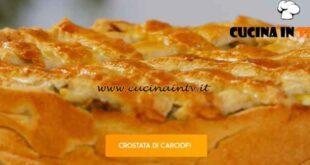 Giusina in cucina - ricetta Crostata ai carciofi di Giusina Battaglia