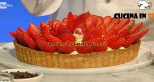 Geo - ricetta Crostata alle nocciole e fragole di Sara Papa