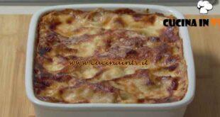Fatto in casa per voi - ricetta Lasagnette radicchio e gorgonzola di Benedetta Rossi