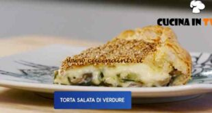 Giusina in cucina - ricetta Torta salata di verdure di Giusina Battaglia