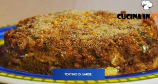 Giusina in cucina - ricetta Tortino di sarde di Giusina Battaglia