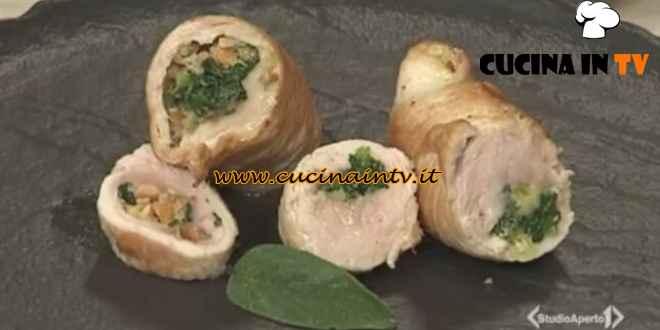 Cotto e mangiato - Involtini di tacchino con nocciole ricetta Tessa Gelisio