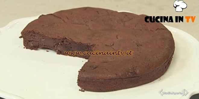 Cotto e mangiato - Moelleux ciocciolato fondente ricotta e mandorle ricetta Tessa Gelisio