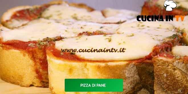 Giusina in cucina - ricetta Pizza di pane di Giusina Battaglia