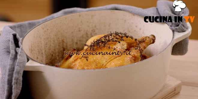 The modern cook - ricetta Pollo arrosto in cocotte di Csaba Dalla Zorza