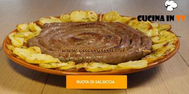 Giusina in cucina - ricetta Ruota di salsiccia di Giusina Battaglia