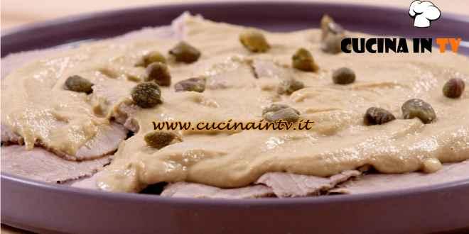 The modern cook - ricetta Vitello tonnato di Csaba Dalla Zorza