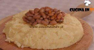 L'Italia a morsi - ricetta Fasoi imbognà con polenta di Chiara Maci