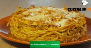 Giusina in cucina - ricetta Timballo di bucatini con broccoli arriminati di Giusina Battaglia