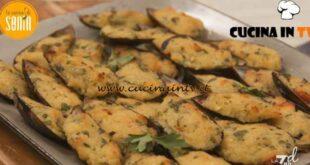 La cucina di Sonia - ricetta Cozze gratinate di Sonia Peronaci