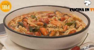 La cucina di Sonia - ricetta Pasta fagioli e cozze di Sonia Peronaci