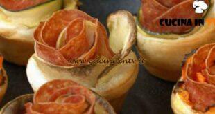 Fatto in casa per voi - ricetta Roselline di sfoglia salate di Benedetta Rossi