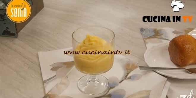 La cucina di Sonia - ricetta Crema pasticcera al limoncello di Sonia Peronaci