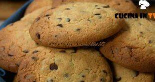 Fatto in casa per voi - ricetta Cookies con ceci e cioccolato di Benedetta Rossi