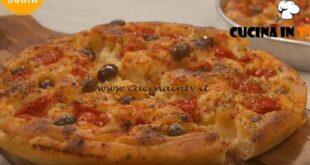 La cucina di Sonia - ricetta Focaccia barese di Sonia Peronaci